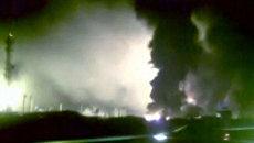 Нефтезавод в Венесуэле горит после взрыва. Кадры с места ЧП
