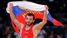 Российский борец вольного стиля Джамал Отарсултанов выиграл золото Олимпиады