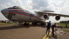 Авиация МЧС РФ. Архивное фото