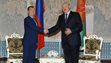 Рабочий визит Д.Медведева в Белоруссию. Архив