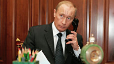 Президент России Владимир Путин в Кремле. Архив
