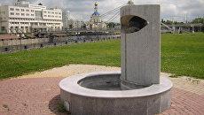 Слеза декана: оригинальный белгородский фонтан превратили в мусорку