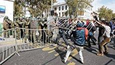 Беспорядки в Сантьяго (Чили) 1 мая