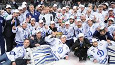 Пресс-конференция представителей хоккейного клуба Динамо Москва