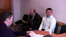 Родители Ани Шкапцовой признались в убийстве дочери. Кадры допроса
