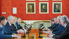 Лукашенко рассказал Собянину, каких москвичей ждут в Белоруссии