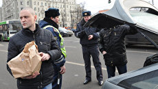 Митинг оппозиции на Пушкинской площади в Москве