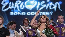 Конкурсанты на сцене Евровидения 2012