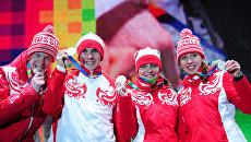 Зимняя юношеская Олимпиада - 2012. Церемония награждения