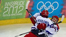 Хоккеисты юношеской сборной России