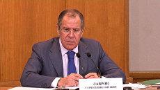 Сергей Лавров о креативной дипломатии, отношениях с США и Ираном