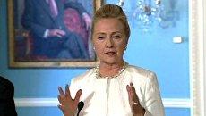 Я в полном смятении из-за истории с нашими морпехами - Хиллари Клинтон