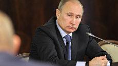 В.Путин провел встречу с представителями объединений рыболовства