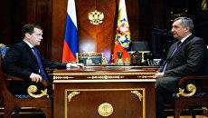 Рогозин пообещал Медведеву железной рукой вырубать коррупцию из ВПК