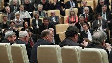 Заседание фракций Госдумы РФ
