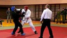 Мастера рукопашного боя встретились на турнире в Бресте
