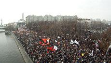 Съемки Болотной площади с летающей камеры РИА Новости