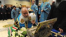 Церемония проводов Пояса Пресвятой Богородицы