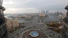 Вид со здания мэрии Москвы. Архивное фото
