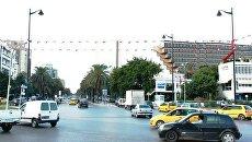 Площадь Седьмого ноября в центре Туниса