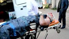 Бортпроводник Александр Сизов доставлен в больницу. Архив