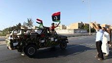 Войска ПНС Ливии в Триполи