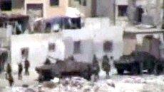 Любительское видео из осажденного сирийского города Латакия