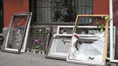 Восстановление поврежденных в результате теракта в Осло магазинов