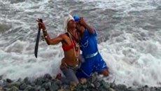 Кубинцы воздали хвалу Богине Моря и сожгли Дьявола
