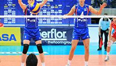 Российские волейболисты вышли в полуфинал Мировой лиги