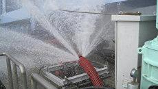 Утечка воды в системе охлаждения реактора на АЭС Фукусима-1