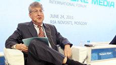 Замглавного редактора агентства Ассошиэйтед Пресс Томас Кент на Международном форуме Медиа будущего