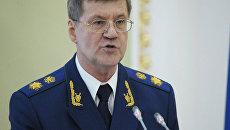 Совет Федерации переназначил Чайку генпрокурором