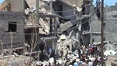 НАТО случайно ударила по жилому дому в Триполи. Видео с места событий
