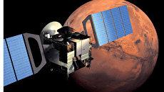 Зонд Марс-Экспресс и спускаемый модуль Бигль-2