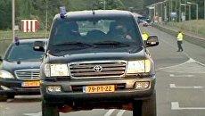 Ратко Младича в Гааге встретил кортеж из бронированных автомобилей