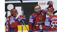 Сборная России победила команду Словакии на ЧМ по хоккею