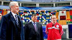 В Мегаспорте Собянину рассказали, за что фигуристы любят московский лед