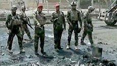 Двойной взрыв произошел в центре Багада. Видео с места ЧП
