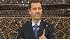 Башар Асад призвал сирийцев противостоять большому заговору