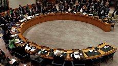 Голосование членов СБ ООН за резолюцию о создании бесполетной зоны над Ливией