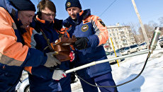 Замер уровня радиации в Южно-Сахалинске