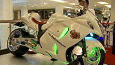 Мотобайки на все времена показали на выставке в Бангкоке