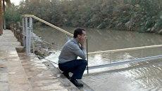 Медведев в Крещение отказался окунуться в Иордан при журналистах