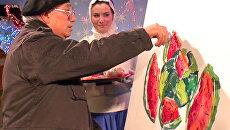 Рождественские картины знаменитостей продадут с аукциона