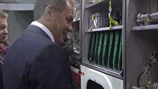 Шойгу показали новый универсальный автомобиль для спасателей