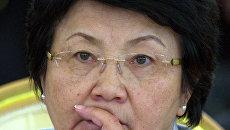 Президент Киргизии Роза Отунбаева