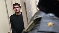 Арест Аслана Черкесова, обвиняемого в убийстве болельщика Спартака Егора Свиридова, в Савеловском суде