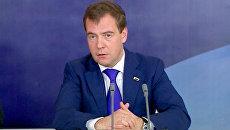 Медведев и Янукович обсудили проблемный энергетический вопрос