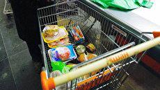 Покупки в супермаркете. Архив